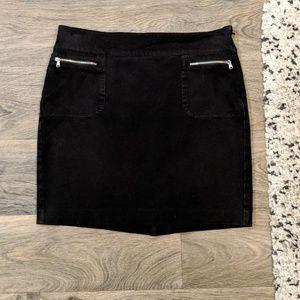 LAUREN RALPH LAUREN Black Mini Skirt Size 6P